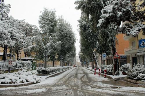 Nevicata Porto San Giorgio - febbraio 2018 (1)