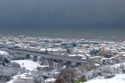 Nevicata Porto San Giorgio - febbraio 2018 (18)