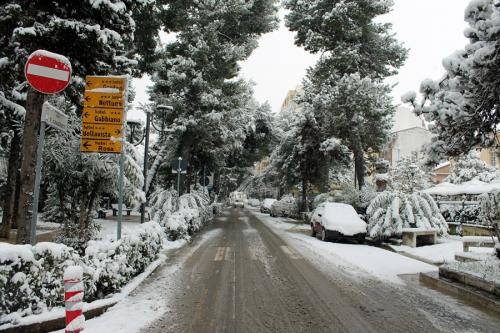 Nevicata Porto San Giorgio - febbraio 2018 (2)